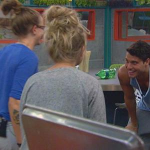 Big Brother - Chopping Nicole and Christine's Hair- Live Feed Highlight