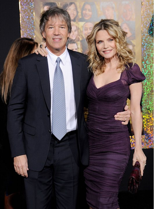 New Year's Eve LA Premiere 2011 David E Kelley Michelle Pfeiffer