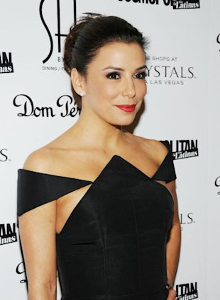 Eva Longoria Stays Single On Valentine's Day