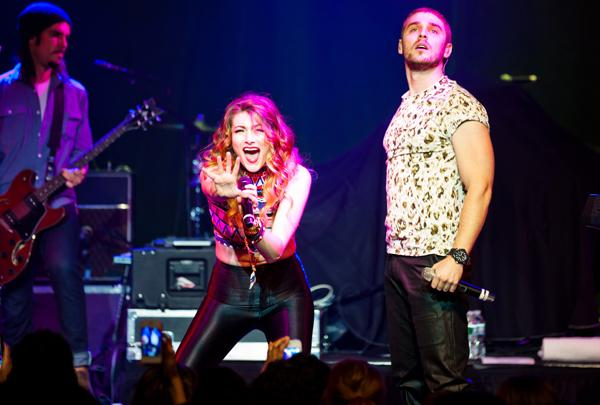Karmin Toast Their Women Who Rock Victory at New York Gig