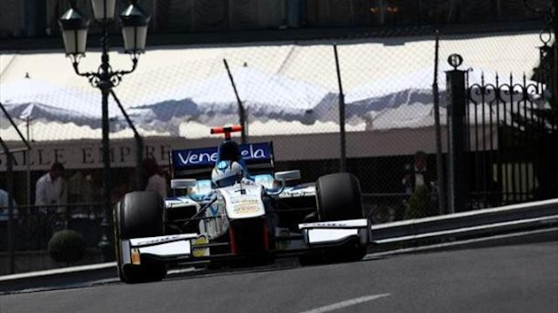Johnny Cecotto in Monaco (GP2)