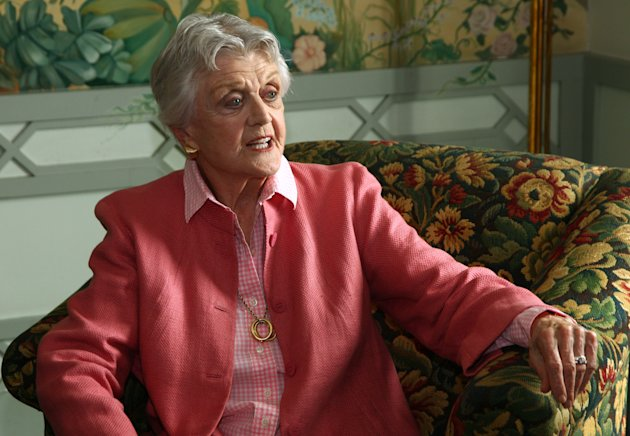 Actor Angela Lansbury poses for photos in Sydney, Australia, Monday, Jan. 7, 2013. Lansbury and James Earl Jones, in Australia to star in a touring production of Alfred Uhry&#39;s Pulitzer-Prize winning play &quot;Driving Miss Daisy,&quot; credit the thrill of performing with their seemingly endless supply of energy, which has propelled them throughout their decades-long careers. (AP Photo/Rick Rycroft)