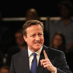 David Cameron Rallies Party Before 'Knife Edge' Election
