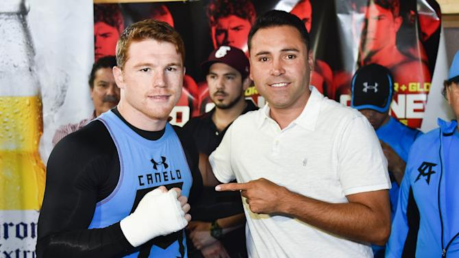 Canelo Alvarez Open Workout