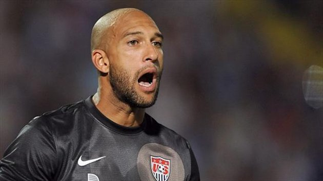 Tim Howard will skipper USA against Scotland