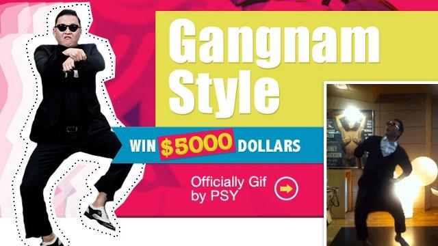 Giddy up! How to Win $5,000 Dancing 'Gangnam Style'