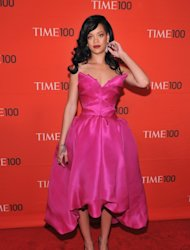 Rihanna attends the TIME 100 Gala celebrating TIME'S 100 Most Influential People In The World at Jazz at Lincoln Center, New York City, on April 24, 2012 -- Getty Images