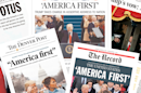 How newspapers covered Trump's inauguration