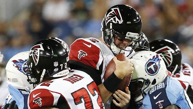 Falcons' LT Sam Baker to miss game at Miami