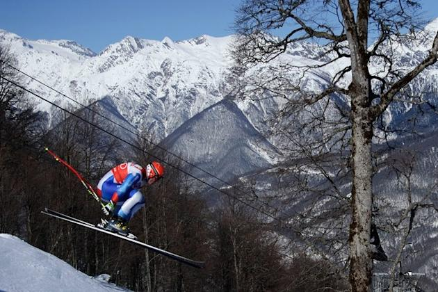 Switzerland's Didier Cuche Skis AFP/Getty Images