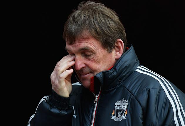 )  Kenny Dalglish, Manager Of Liverpool Looks Getty Images