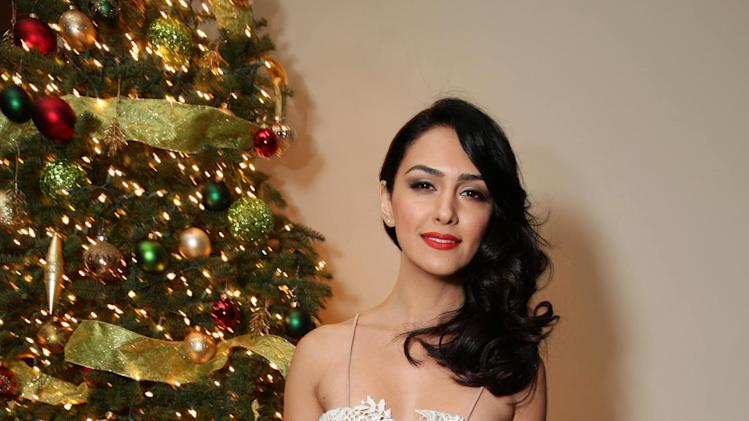 EXCLUSIVE CONTENT - PREMIUM RATES APPLY Nazanin Boniadi seen at Showtime's Holiday Soiree, on Thursday, Dec. 5, 2013 in Los Angeles. (Photo by Eric Charbonneau/Invision for Showtime/AP Images)