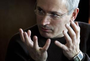Former imprisoned Russian tycoon Mikhail Khodorkovsky …