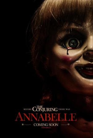 """In its fourth weekend in theaters, """"Annabelle"""" claimed first place at the worldwide box office."""