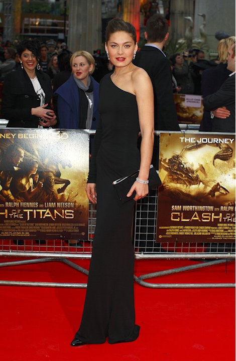 Clash of the Titans UK premiere 2010 Alexa Davalos