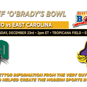 Beef O Brady's Bowl: Ohio vs. East Carolina