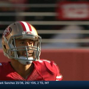 Week 17: San Francisco 49ers quarterback Colin Kaepernick highlights