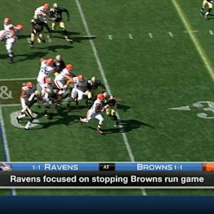 Can the Baltimore Ravens stop the Cleveland Browns' running game?