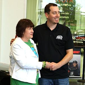 Kyle Busch hands over keys to his \x{2018}Rowdy Camry'