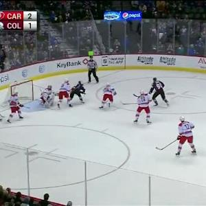 Cam Ward Save on Ryan O'Reilly (13:03/1st)
