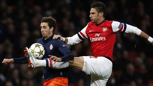 Olivier Giroud, Montpellier v Arsenal