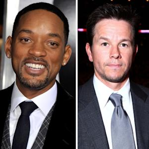 Will Smith, Mark Wahlberg -- Getty Images