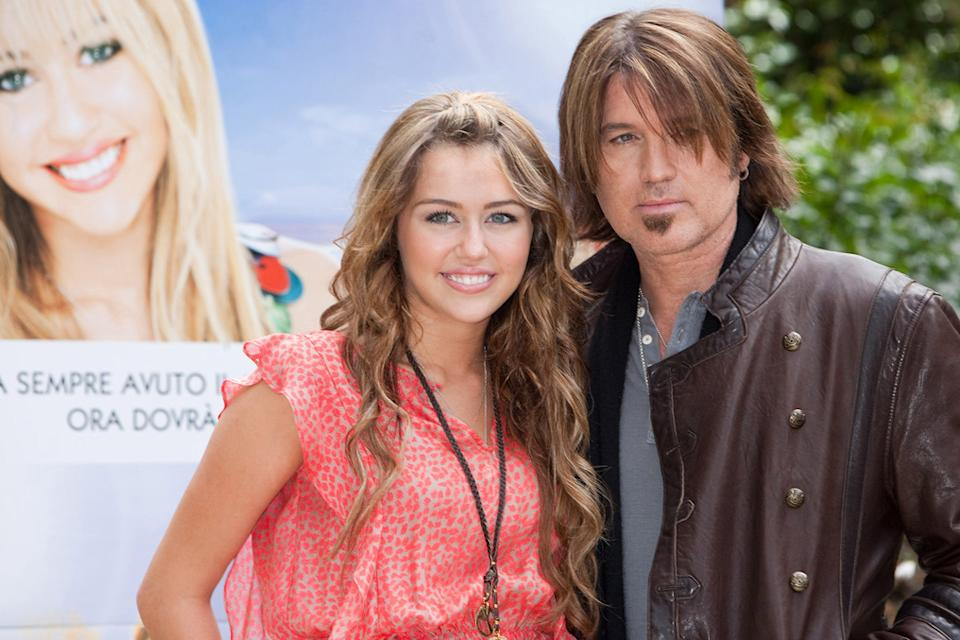 Miley Cyrus Billy Ray Cyrus 2009