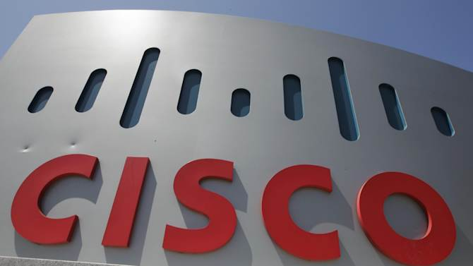 This Wednesday, May 9. 2012, file photo, shows an exterior view of Cisco headquarters in Santa Clara, Calif. Cisco Systems Inc., the world's largest maker of computer networking gear, said Sunday, Nov. 18, 2012, it is buying Meraki for $1.2 billion to expand its ability to let customers compute in the cloud,  (AP Photo/Paul Sakuma)