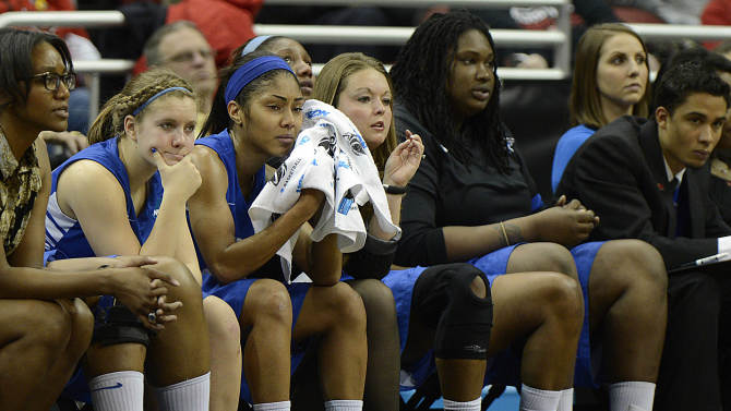 NCAA Womens Basketball: NCAA Tournament-Middle Tennessee vs Louisville