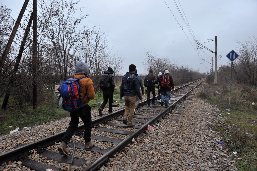 At least 14 migrants killed in Macedonia train horror