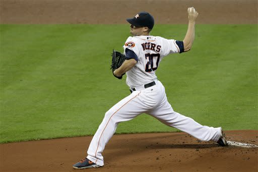 Carter's 2 homers lead Astros over Rays 4-1