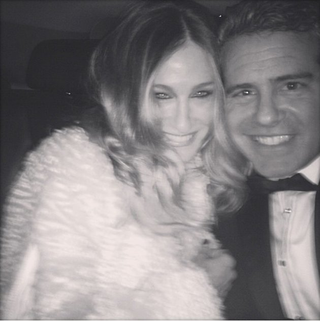 Andy Cohen, Sarah Jessica Parker