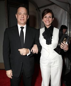 Tom Hanks Says Working With Julia Roberts 'Raises Your Game'; Reveals 'Larry Crowne' Prank On Actress