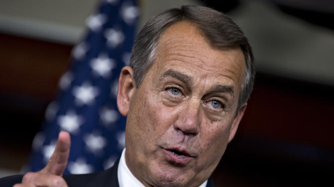 Night talks: Obama, Boehner meet on 'fiscal cliff'