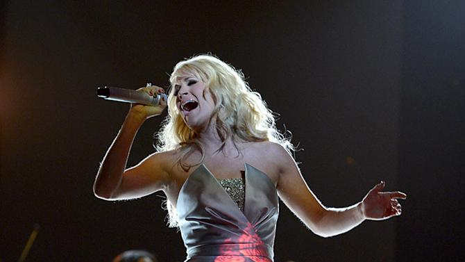 The 55th Annual GRAMMY Awards - Show: Carrie Underwood