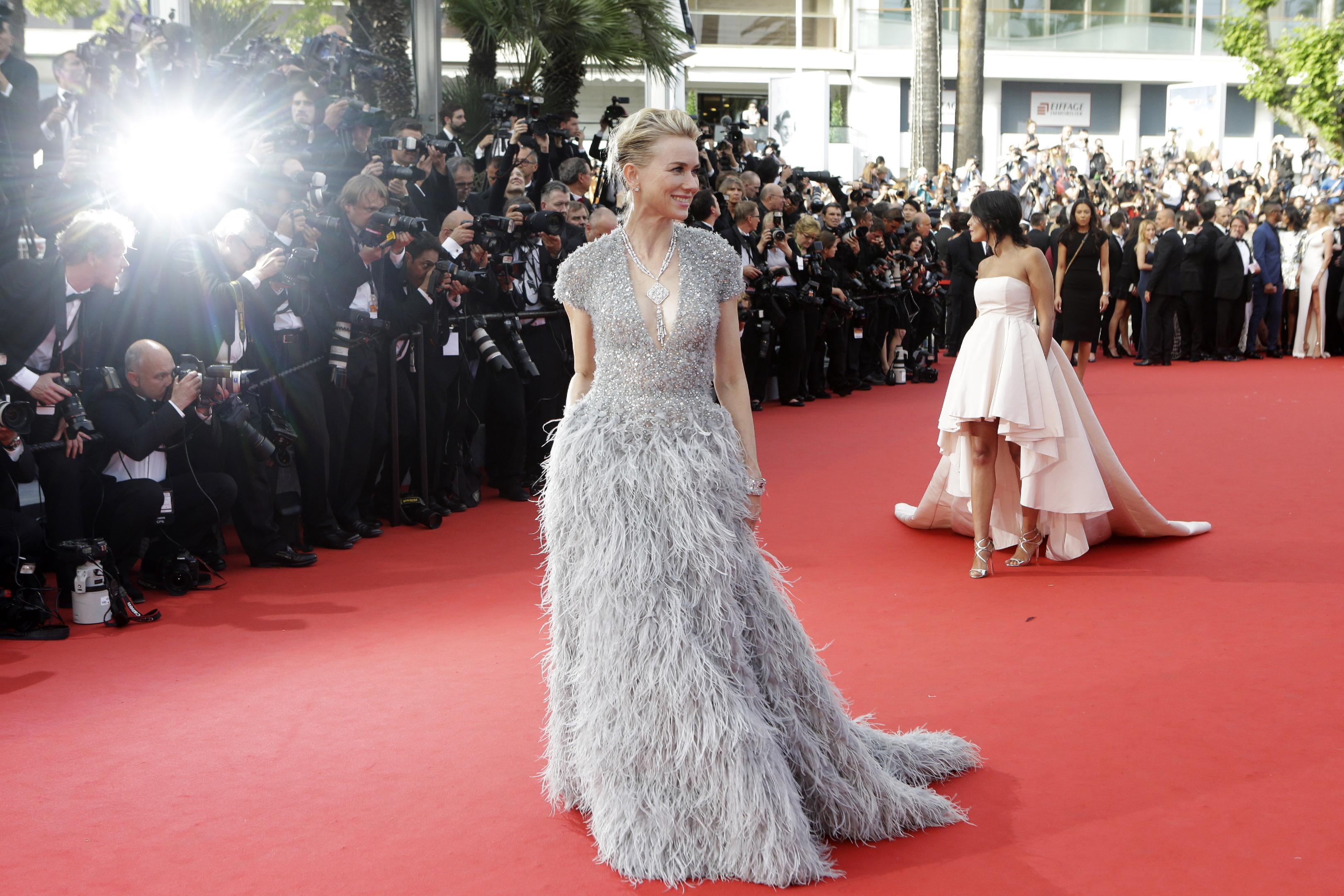 Red carpet Emergency Room at Cannes is always full of drama