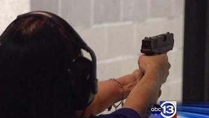 Gun training courses in high demand