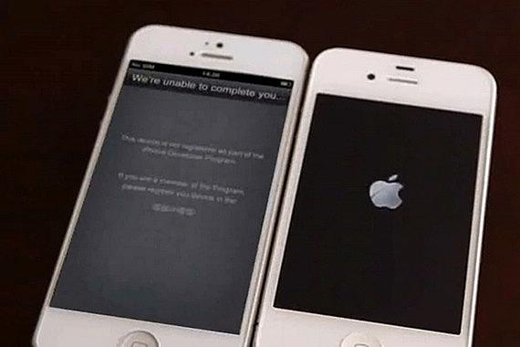 'Real iPhone 5′ caught booting up on camera [video]