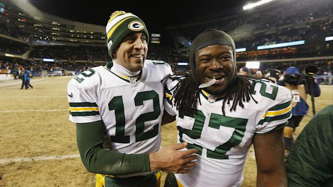 Aaron Rodgers basks in glow of an 'amazing' game