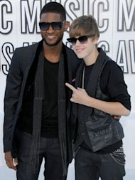 Usher urges Justin Bieber to go vegan