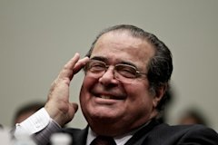 U.S. Supreme Court Justice Antonin Scalia. Photo by Stephen Masker.
