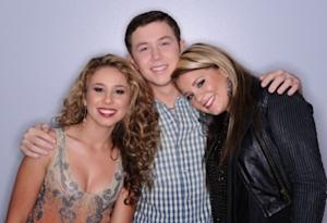 """American Idol"" final 3 - Haley Reinhart, Scotty McCreery and Lauren Alaina -- FOX"