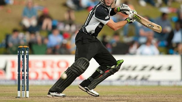 Martin Guptill inspired New Zealand to victory despite his injury
