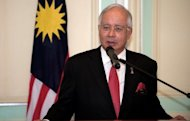 Malaysia's Prime Minister Najib Razak, pictured April 18, faces a major test as his country braces for a confrontation Saturday between authorities and thousands of protesters vowing to face down curbs on a rally demanding wholesale electoral reforms