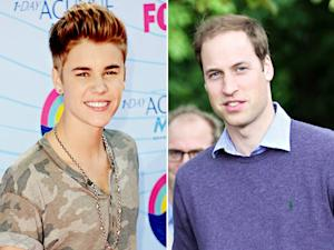 Justin Bieber Slams Prince William's Thinning Hair