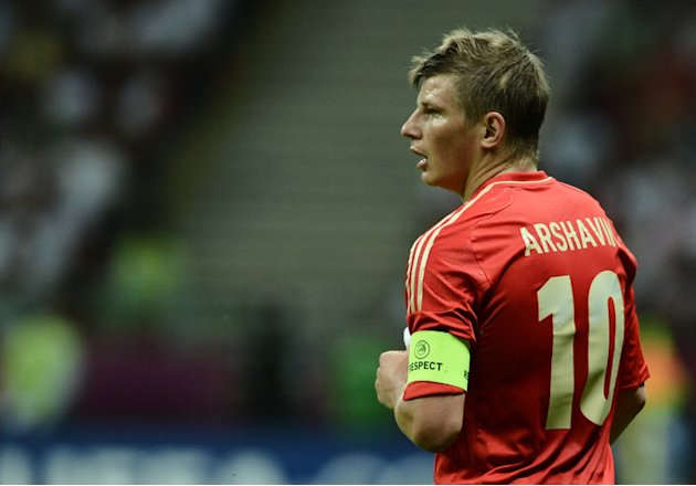Russian Forward Andrey Arshavin AFP/Getty Images