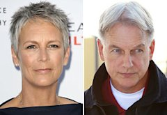 Jamie Lee Curtis, Mark Harmon | Photo Credits: Cliff Lipson/CBS, Jason LaVeris/FilmMagic