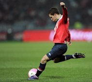 Lille star Eden Hazard, pictured in action in March 2012, confirmed the worst-kept secret in French football on Saturday, when he declared that he will leave the French champions at the end of the current season