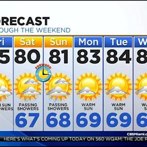 CBS4 Weather @ Your Desk - 3/6/15  6:00 a.m.