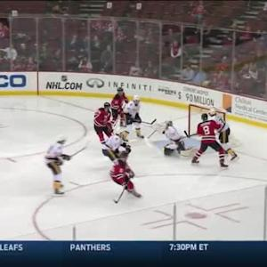 Adam Larsson Goal on Carter Hutton (00:58/1st)